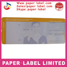 thermal paper boarding pass