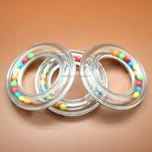 plastic hand rattle noise maker musical hand toy baby rattle