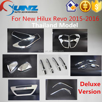 Chromed Kits,Toyota Hilux Revo 2015 all new deluxe version model Cheap price Full Chromed Kits for 2015 hilux revo