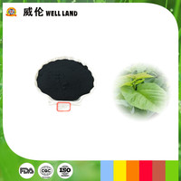 Mulberry leaves extract sodium copper chlorophyllin green candy color powder