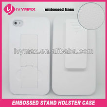 new products 2013 hard plastic holster mobile phone case for iphone4 4s made in china
