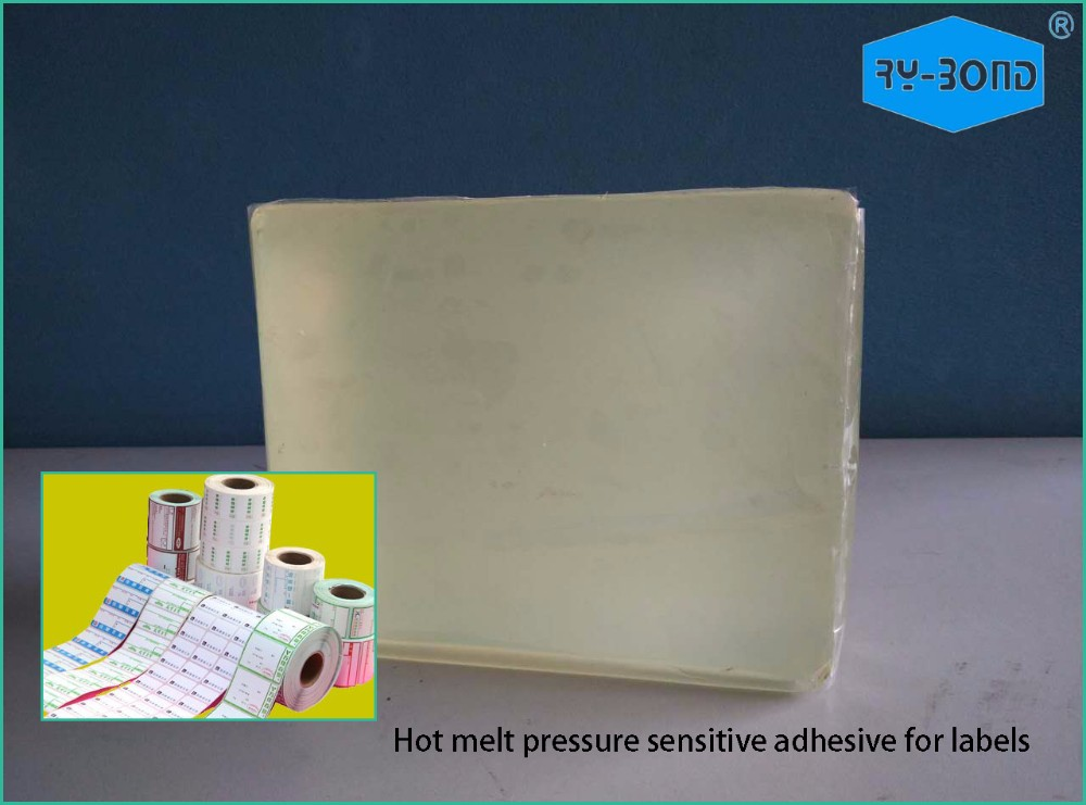 New Design Pillow Shaped Label Hot Melt Adhesive
