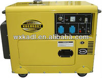 KDE8600T 6.5-7KVA Silenced Enclosed Type Diesel Power Generator