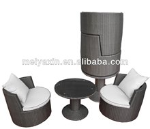 2014 New Cheap outdoor furniture set wicker poly rattan garden furniture