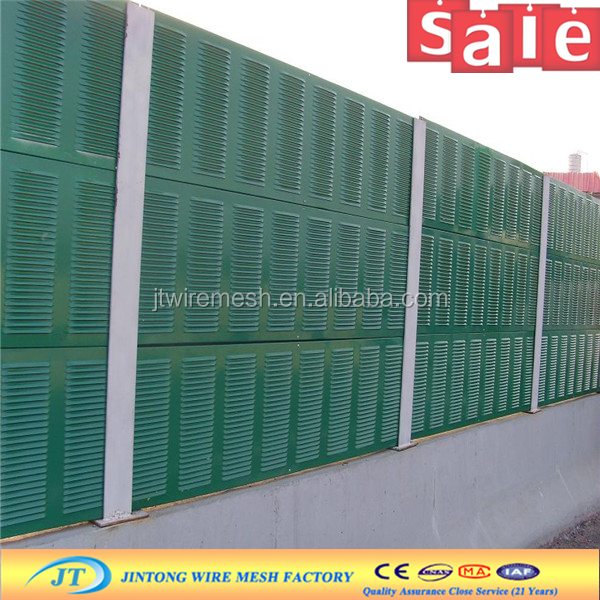 highway metal sound proof wall/panel