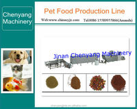 Superior Chewing dog Food making machine/pet fodder production line/processing line for sale
