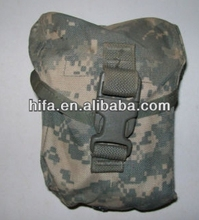 little camo military first aid pouchs