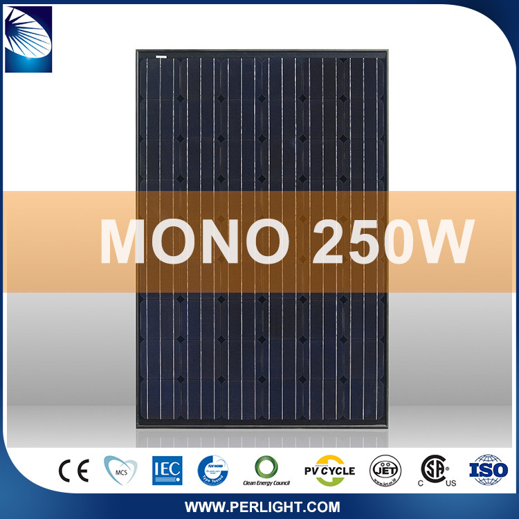 Promotional top quality solar roof panels
