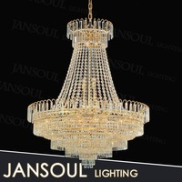 Kevin reilly altar pendant light K9 yellow crystal hotel decoration light