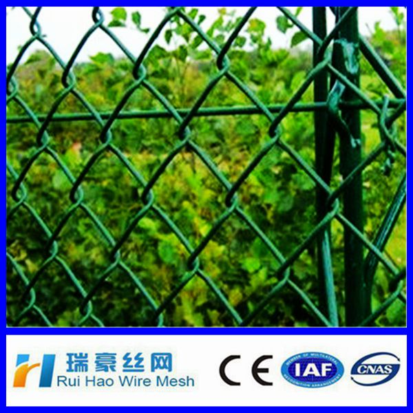 High quality decorative chain link fence/ chainlink fence price from Anping ying hang yuan