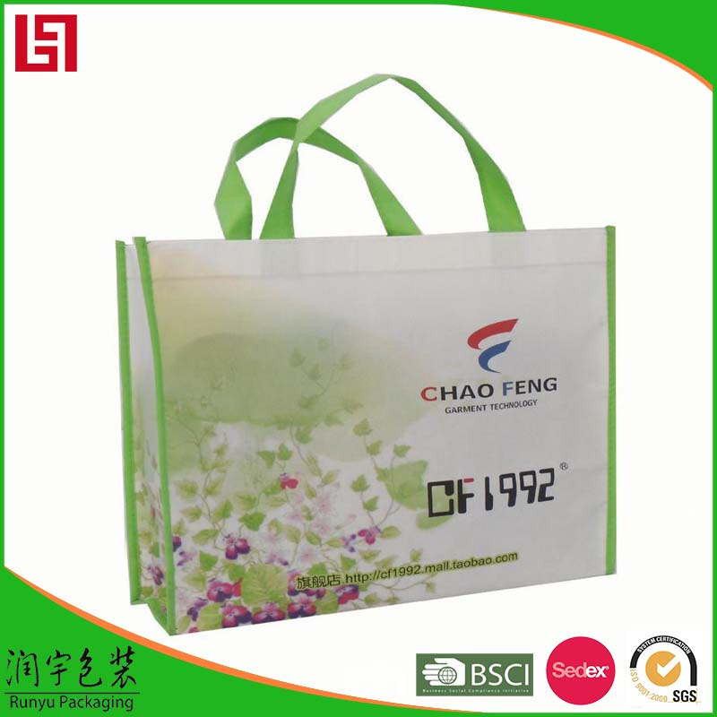 TOP sale factory price polyester foldable shopping bag