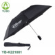 cheap auto open promotional 2 folding umbrella