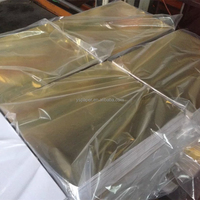 Laminated gold paper with white back/black back/grey back