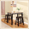 2014 wall mounted dining table manufactures ,thick wood slab cheap dining room table sets designs in Dongguan