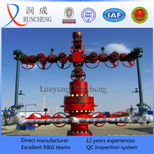 API 6A oil producing X-mas tree wellhead device oil drilling christmas tree