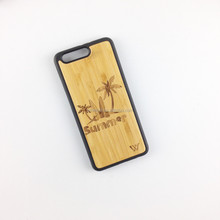 new design arrival wooden phone cover for huawei,bamboo laser wood phone case for huawei,for iphone