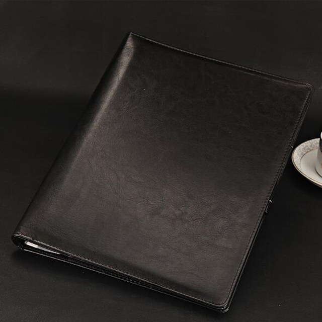 Stationery Notebook Notepad A5 Business/Imitation Leather Hand Book Spiral botton Thickening Diary Book