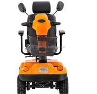 Lightweight disability 4 wheel electric mobility scooter for old people