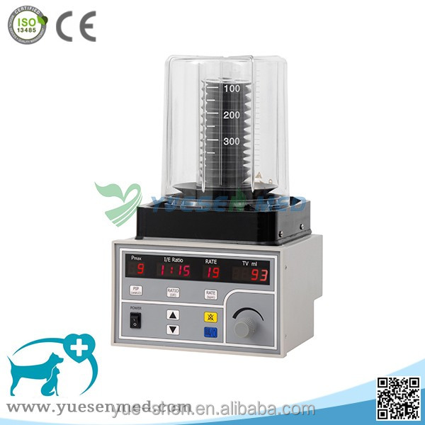 Hospital operation room equipment with ventilator portable anesthesia machine