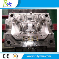 plastic automobile car front fog lamp parts injection mould