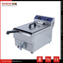 Commercial Table Top KFC Deep Fryer With Oil Tap
