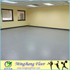 8.0mm plain color pvc flooring mat for dance studio