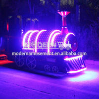 Mini Electric Smoke Machine Metal Christmas Train