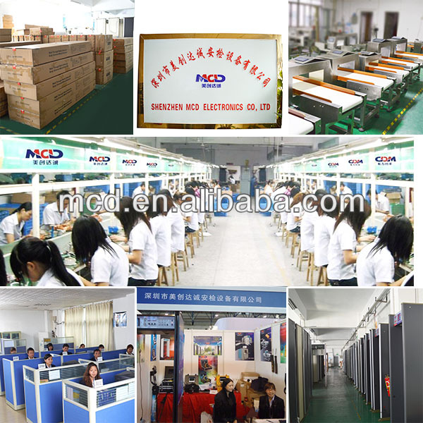 Well MCD-5030C Food Production Line Metal Detector ISO1600 Film Safety Guarantee