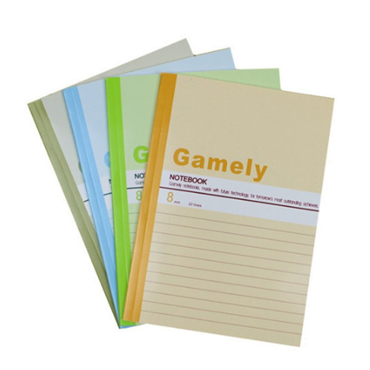 New Products China Simple Soft Cover Classmate Notebook