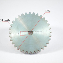 Chinese GY6 50 scooter engine tooth wheel