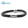 New Personalized Braided Mens Leather Bracelets Wholesale