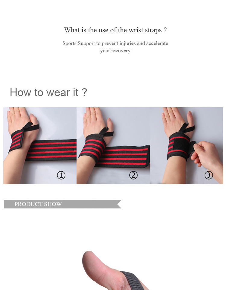 Hot Sale Thin Computer Writing Keyboard Workout Benefit Medical Wrist Support Wraps