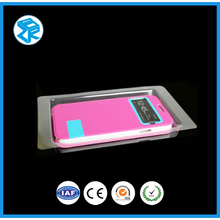 small and hot portable disposable cellphone case plastic blister packaging