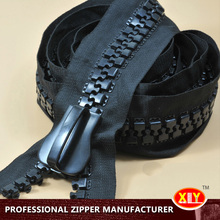 large industrial zipper close end plastic zipper 30# zip