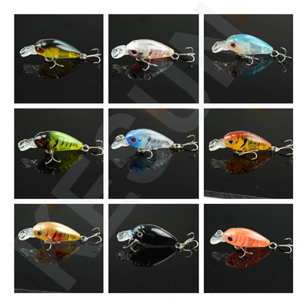 OEM welcome floating micro crankbaits crankbait for bass kesun for fishing tackle