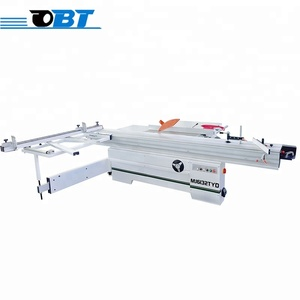 China professional precision woodworking sliding table panel saw for cutting MDF and solid wood for sale
