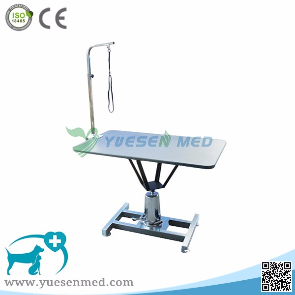 YSVETMY1002 Fully made of Premium Grade 304 Stainless Steel pet grooming table