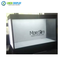Interactive Advertising Player Restaurants Bar Capacitive Touch Foil diy transparent lcd screen