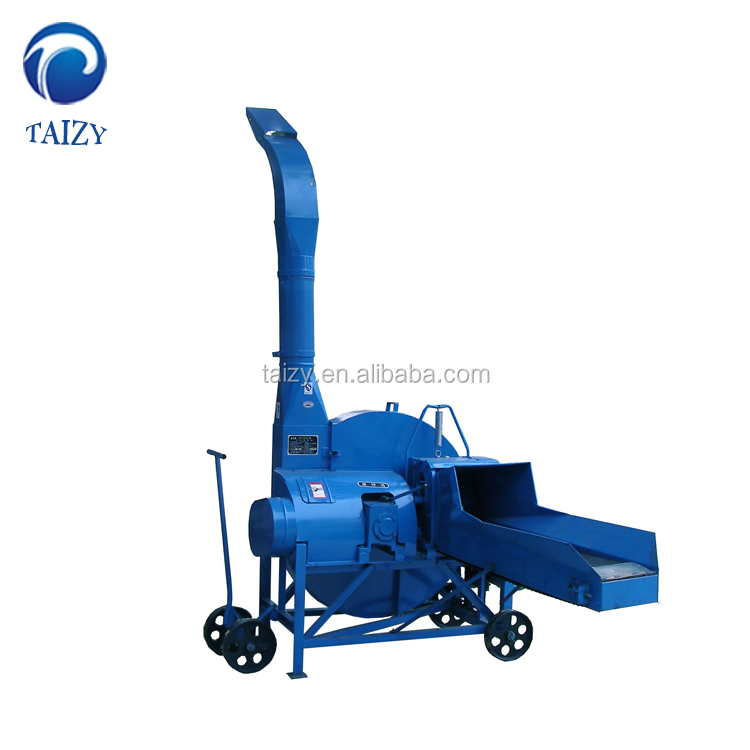 Straw crusher animal feed grass cutting machine for sale