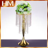 Elegance Crystal wedding centerpiece event decoration flower stand table or floor decoration high quality