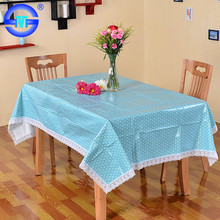 Popular waterproof fashionable best selling cheap light blue chevron table cloths