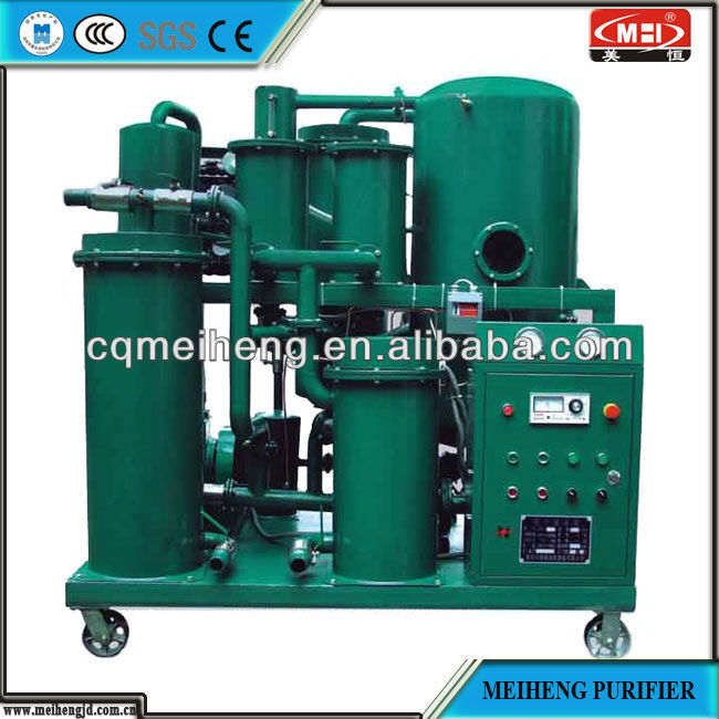 MEIHENG Quality used oil recycling plant for recycling used motor engine oils