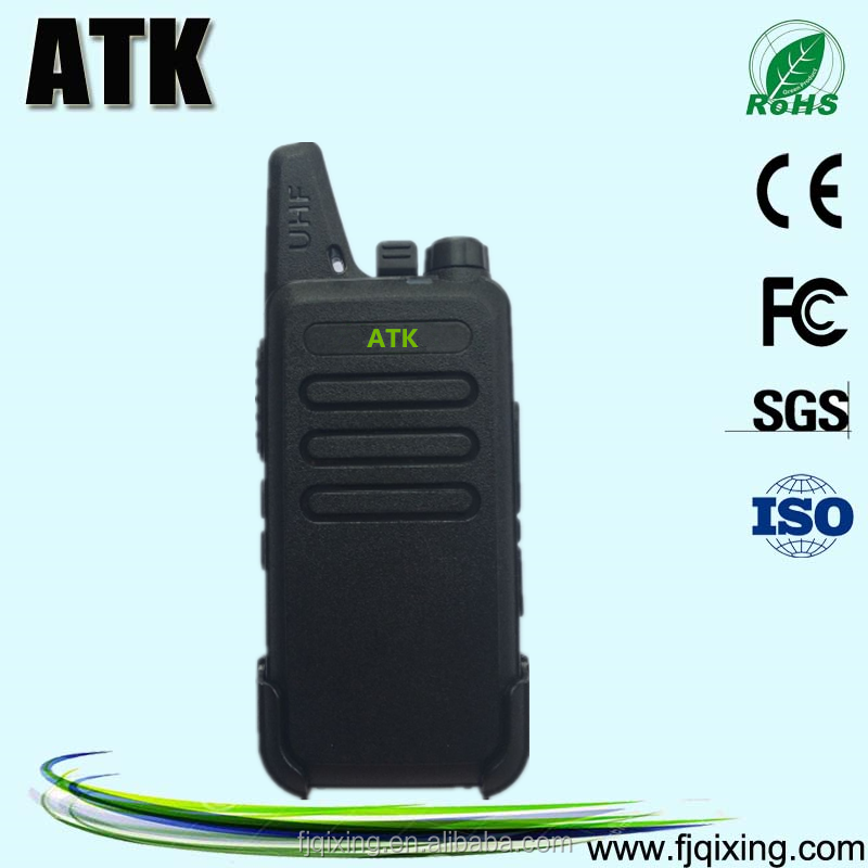 High quality small handheld digital two way radio