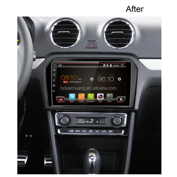 quad core 1024X600 car dvd player big screen android audio stereo video BT WIFI Radio 3G/mirror link /OBD for 2015 VW Jetta