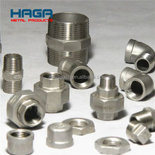 NPT BSP DIN2999 Stainless Steel Threaded Pipe Fittings