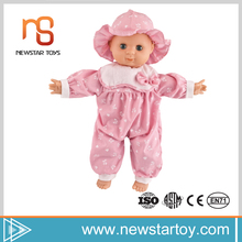 most popular retail items 15 inch silicone child doll with low price
