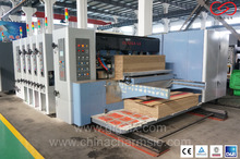 GIGA LX 308N Corrugated Carton Pizza Box Printing and 4 Colour Flexo Printing Machinery