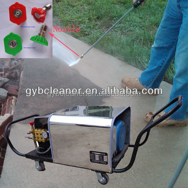 GY-15/300 11kw high pressure washer ground surface cleaner