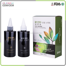 High quality wholesale permanent aromatic herbal hair perm liquid 120ml*2