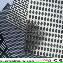 Exterior Decorative Perforated Metal Panel punched plate with artistic style from China(factory)
